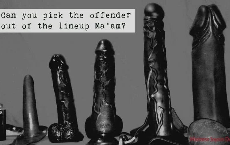 Greyscale photo of a collection of black dildos. Image courtesy of Mistress Joysin for article A finger in the Butt - What will people think of me? NZ Pleasures.